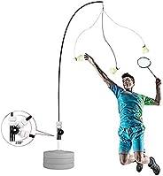 Badminton Trainer, Solo Equipment Practice Training Aid Serve Hopper Sport Exercise Base Powerbase Self-Study