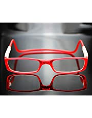 XYNH Leesbril Vrouwen/heren 2,5, magnetische verstelbare oogglazen, HD harslennen, pc-materiaal, Hang om de nek, verwijderbaar (diep Blauw, lichtblauw)