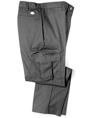 Mens 2112372 Cargo Pant-UNIQUE INSEAMS-CHARCOAL