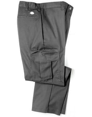 2112372 Dickies Premium Industrial Cargo Pant-CHARCOAL-29WX37L Unhemmed