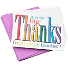Teacher Peach Inspirational Note Cards   Set of 10   Thank You Notes from Teachers   Primary Grade