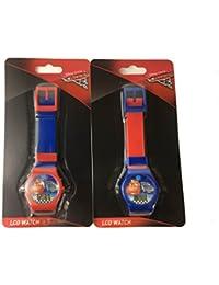Disney Pixar Cars 3 LCD Watch set of 2