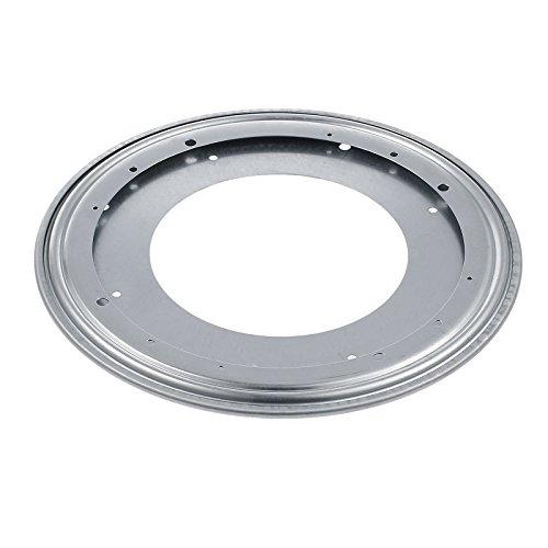 Neoteck Placa Giratoria de 360 Grados Giro Turntable 12 o 300 mm Rodamiento Giratorio para Caleidoscopios Servidores de Mesa Exhibicion de Ferias Comerciales