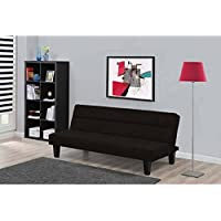 Dorel Home Products Kebo Futon Sofa Bed, Black