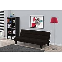 Dorel Home Products Kebo Futon Sofa Bed, Black