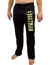 DC Comics Batman Logo Men's Pajama Pants - Black
