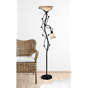 Kenroy Home 32241 Callahan Floor Lamp/Torchiere, 72 Inch Height Oil Rubbed Bronze