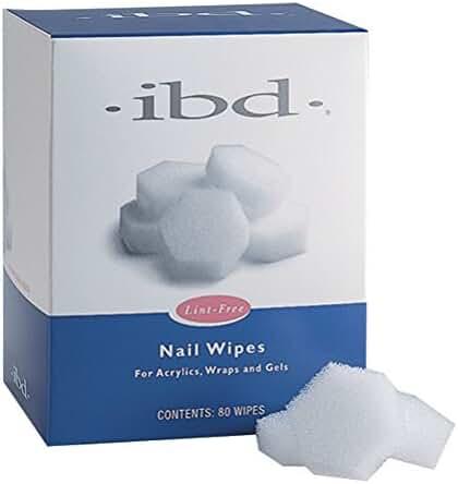 IBD Nail Lint Free Wipes, 80 Count