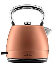 Sunbeam KE2110BZ London Collection Pot Kettle, Rose Bronze