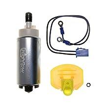 HFP-382S - 2000-2001 Kawasaki Vulcan 1500 Classic Fi / VN1500 EFI Fuel Pump with Installation kit - Replaces 49040-0727 , 49040-0018 , 49040-0009
