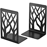 Book Ends, Bookends, Book Ends for Shelves, Bookends for Shelves, Bookend, Book Ends for Heavy Books, Book Shelf Holder Home Decorative, Metal Bookends Black 1 Pair, Bookend Supports, Book Stoppers