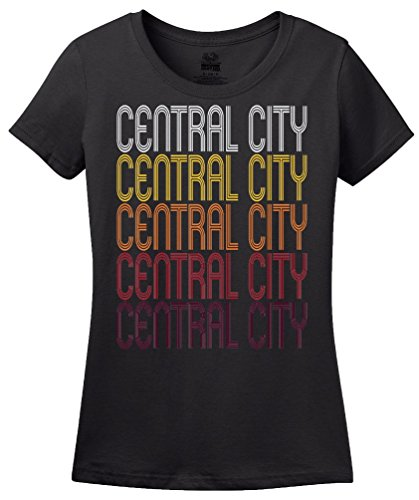 Central City, PA | Retro, Vintage Style Pennsylvania Pride T-shirt