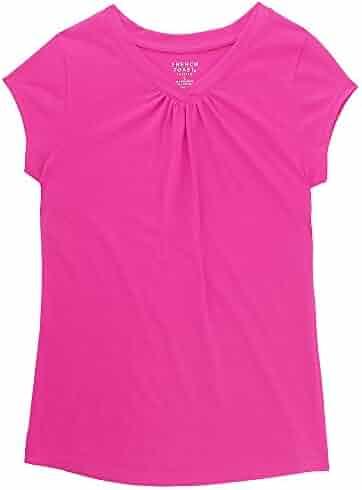 French Toast Girls' Short Sleeve V-Neck T-Shirt