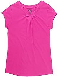 Girls' Short Sleeve V-Neck T-Shirt