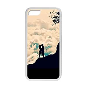 Welcome!Iphone 5C Cases-Brand New Design Romantic Lover Printed High Quality TPU For Iphone 5C 4 Inch -03