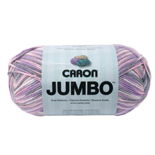 Caron Jumbo Prints Yarn, 12 Ounce, Easter Basket, Single Ball