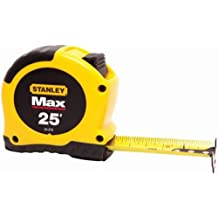 Stanley 33-279 Max English Tape, 1-1/8 Inch X 25'
