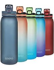 Opard Drinkfles Sport 900 ml waterfles van Tritan, BPA-vrij, lekvrije sportfles voor kinderen, sport, fitness, fiets, voetbal, outdoor