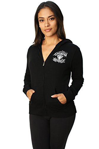 Outlaw Threadz Women's Flying Diamond Full Zip Hoodie-2XL - Sale Outlaw For Diamond