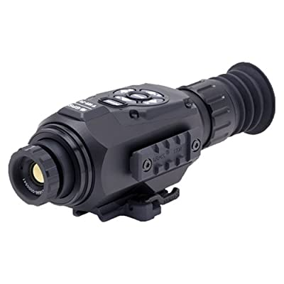 ATN ThOR HD 384 Smart Thermal Riflescope w/1080p Video, WiFi, GPS, Image Stabilization, Range Finder, Shooting Solution and IOS and Android Apps