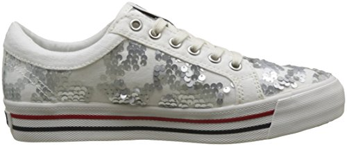 Bianco Sequin Hilfiger Da Basse Sneaker white Ginnastica Denim Fashion Scarpe 100 Tj Donna Cw1wvqtg