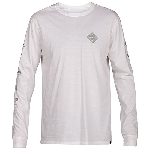 Glyphs Shirt, White - Small (Hurley White Sweatshirt)