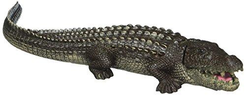 Blue Ribbon Exotic Environments Bubbling Alligator Aquarium Ornament]()