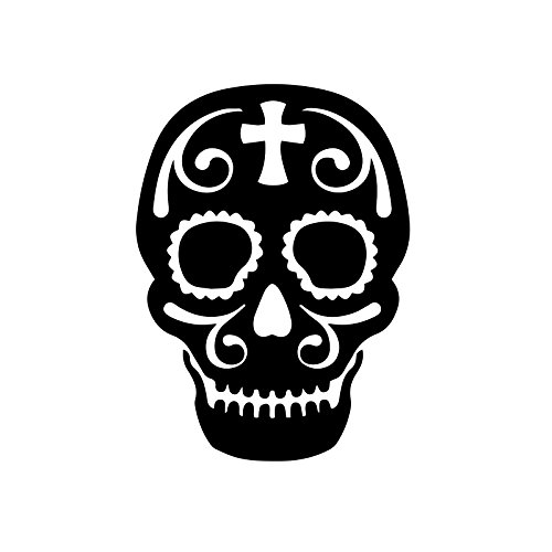 Bargain Max Decals Sugar Skull Decal Notebook Car Laptop 5.5