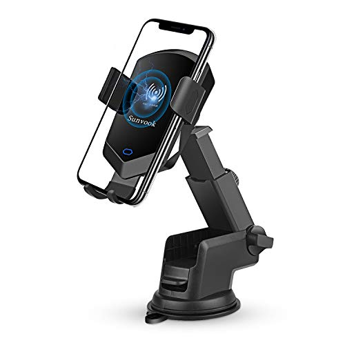 Qi Wireless Car Charger Mount Automatic Clamping 10W Fast Charging Air Vent Phone Holder Compatible with iPhone X Xs MAX XR X 8 8 , Samsung Galaxy S10 S10 S9 S9 S8 S8