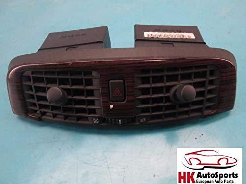 Dash Center AC Air Vents Wood Trim Bezel W/Hazard Switch Cadillac CTS 03-06 -