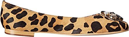 Dyn London Kvinna Hubble Leopard Ponny Platt 36 (oss Kvinnor 5) B (m)