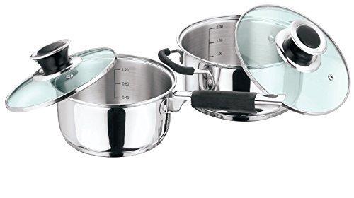 Vinod Cookware 202 Masterchef Cookware Set Silver 4