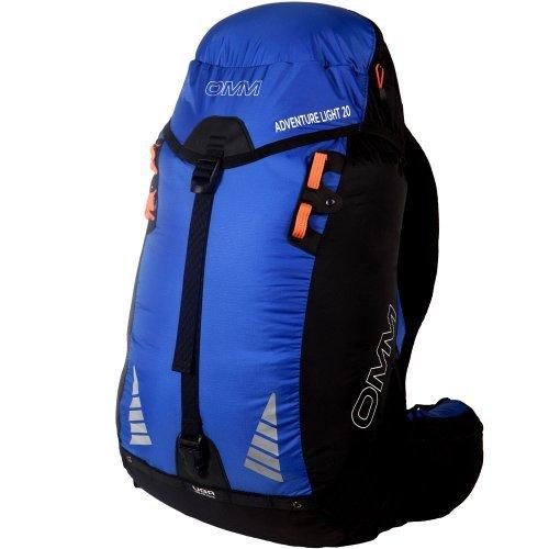 OMM Adventure Light Running Backpack One Size Blue Black