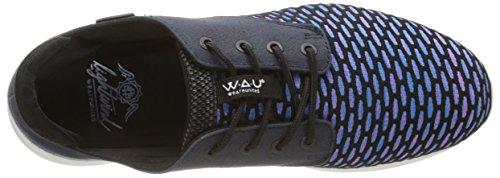 WAU Lightwind, Alpargatas para Hombre Turquesa - Turquoise (Royal Blue)