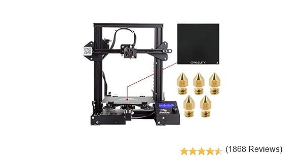 Comgrow Creality DIY Impresora 3D Ender 3 con Placa de Vidrio ...
