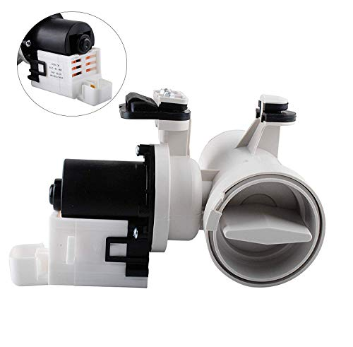 Podoy W10130913 Washer Drain Pump Compatible with for Whirlpool W10730972, 8540024, W10130913, W10117829, AP4308966, PS1960402 Motor Assembly Replacement