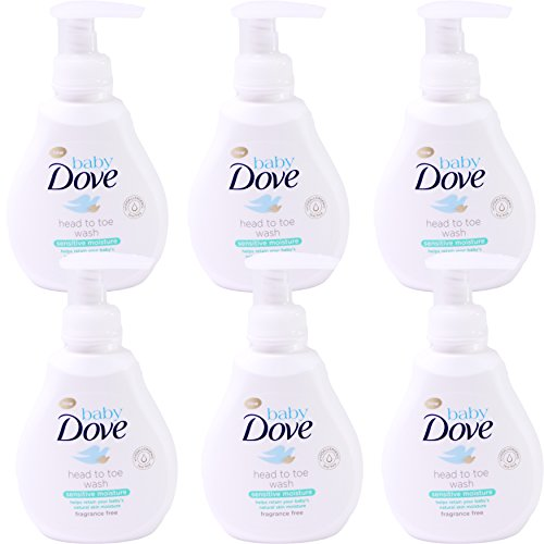 Baby Dove Wash, Sensitive Moisture, 13 oz