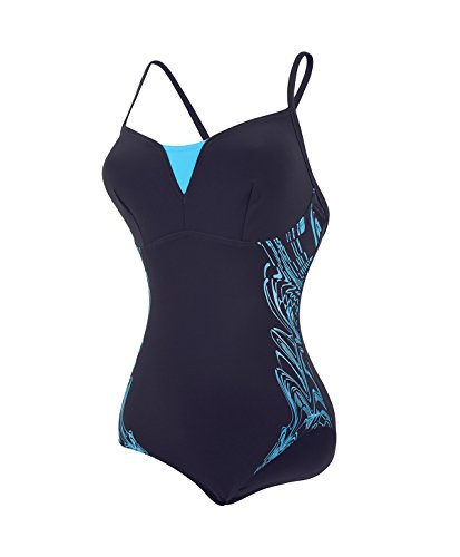 da Donna bagno Costume Shinedream Blue Speedo intero Navy Blu w1axRqT