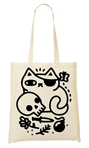 The Fourre Tout Cat Pirate À Provisions Sac Sac BdpUxq