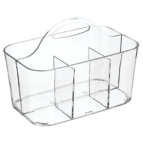 InterDesign Clarity Cutlery Flatware Caddy, Silverware, Uten