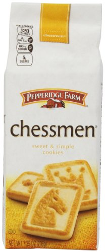 Pepperidge Farm Butter Chessmen Cookies, 7.25-Ounce Package (Butter Cookie Re)