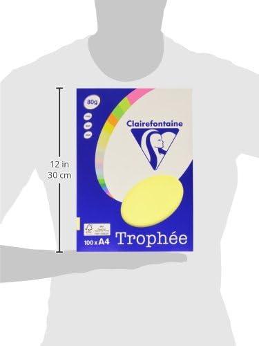 21/x 29,7/cm Clairefontaine Troph/ée/Lot de 100/Mini Feuilles de Papier A4
