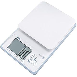 Tanita (Tanita) Washable Digital Cooking Scale 2kg (up to 0.1g Units / 200g) White KW-220-WH
