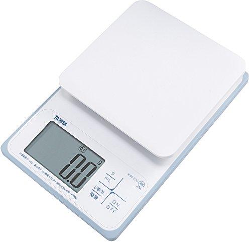 Tanita 타니타 저울질 스케일 요리 방수 씻을 수 있 2kg 0.1g KW-220 WH
