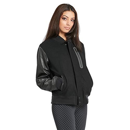 Nike Womens Essential Destroyer Jacket Black/Black 908642-010 (Large)