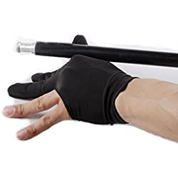 MXXGMYJ MagicW 3 Fingers Billiards Glove Snooker Cue Shooters Gloves Cuetec Billiard Glove Pool Accessory Billiard Cue 3 Pair