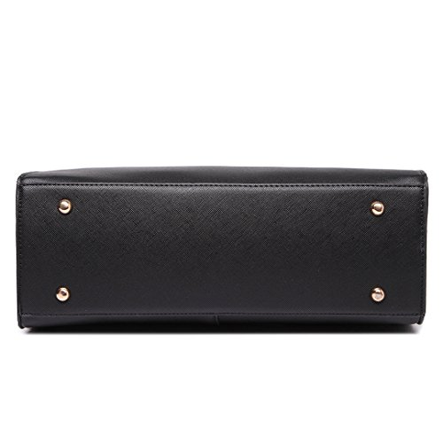 Miss Lulu ,  Damen Tasche 1666 Black