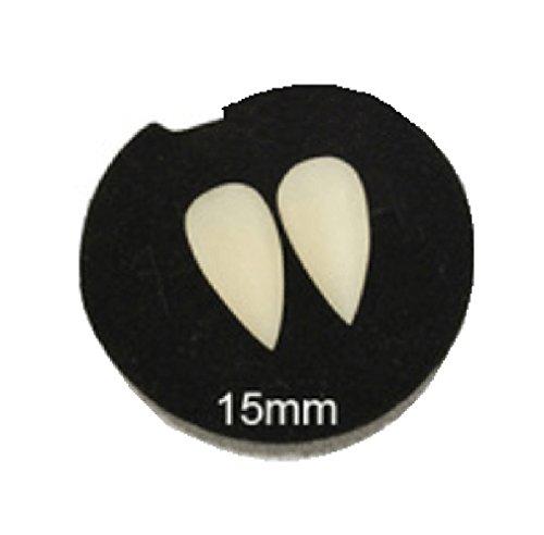 Genetic Los Angeles Luminous vampire dentures Fangs Glow Realistic Deluxe Teeths, 15MM