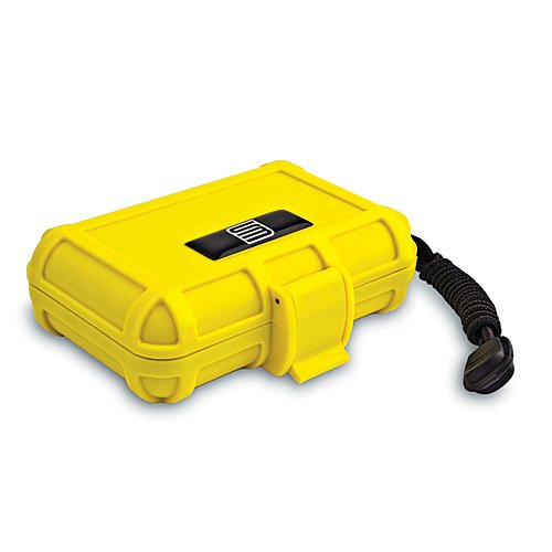 S3 Hard Case with Foam Liner for Universal - Non-Retail Packaging - Yellow