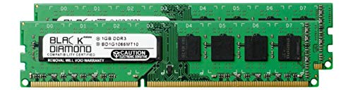 1GB RAM Memory for Acer Veriton X275-PD1 240pin PC3-8500 DDR3 DIMM 1066MHz Black Diamond Memory Module Upgrade ()
